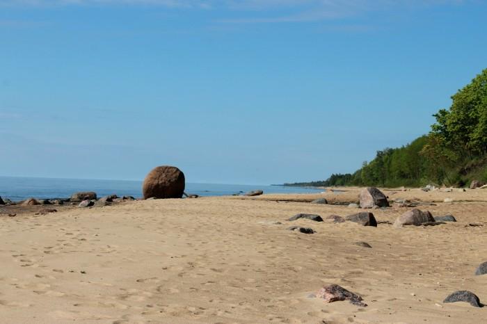 Kelionė iš Talino. Sustojimas Latvijospajūryje.